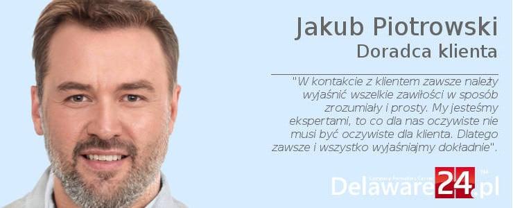 Jakub Piotrowski - ekspert serwisu Delaware24